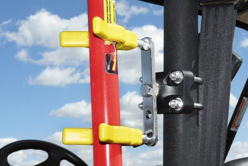 """Universal Handlebar ATV UTV Shovel Rake Tool Utility V GRIP Holder 1 1//4/"""" Bar"""