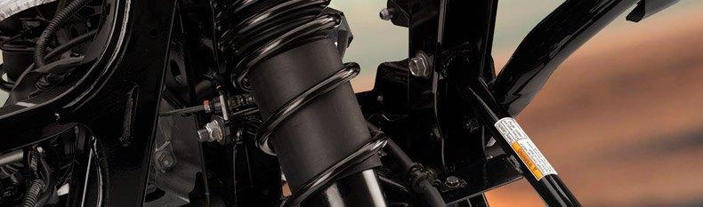 POLARIS SPORTSMAN ATV HEAVY DUTY FRONT STRUT GAS SHOCK SPRING 10/% STIFFER BOSS