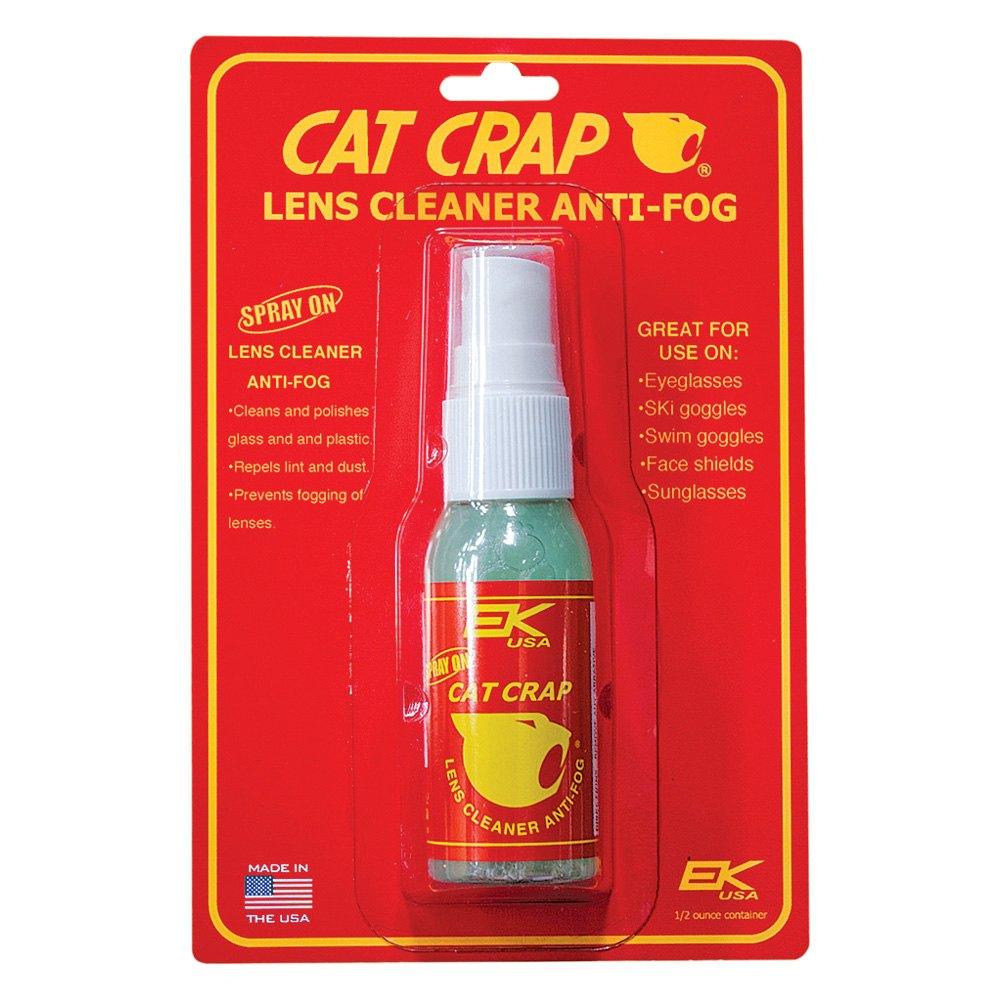 cat crap 10808p anti fog lens cleaner spray on. Black Bedroom Furniture Sets. Home Design Ideas