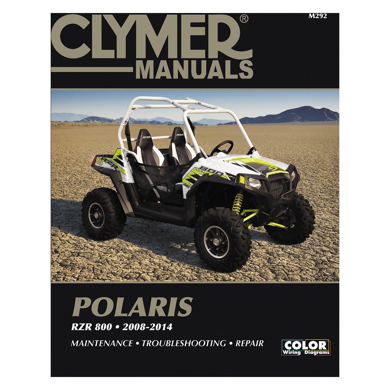 Clymer M292 Polaris Rzr 800 2008 2014 Manual Ranger Wiring Diagram