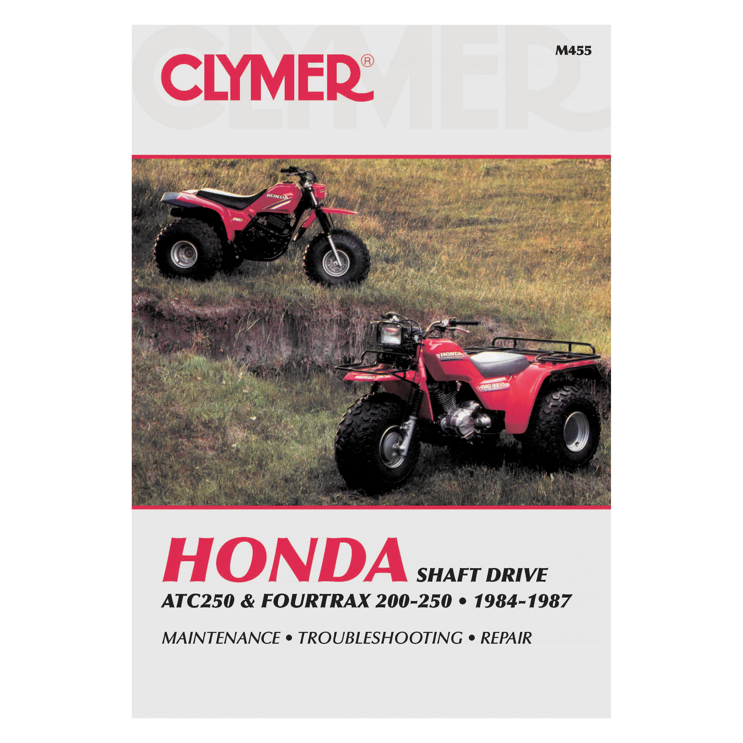 Clymer® - Honda ATC250 and Fourtrax 200-250, 1984-1987 Manual