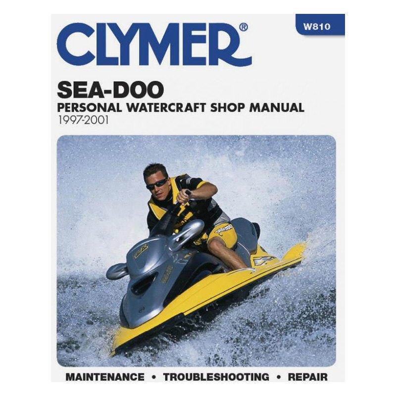 Clymer® W810 - Sea-Doo Personal Watercraft Shop, 1997-2001 Manual