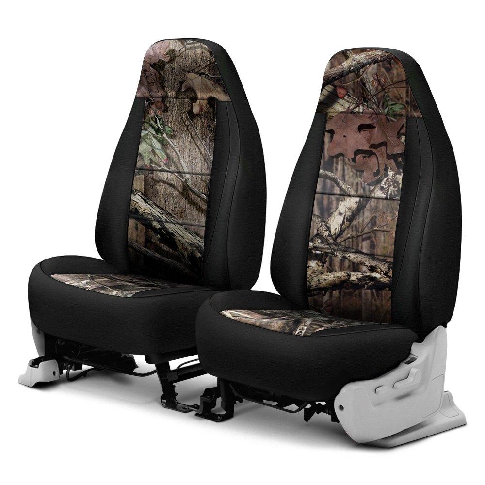 Mossy Oak Seat Covers >> Coverking Csc2mo02ca1001 Mossy Oak 1st Row Camo Break Up Infinity Custom Seat Covers