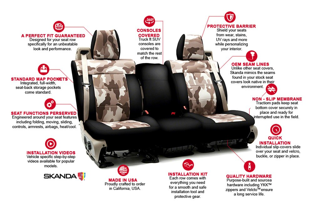 Cool Coverking Csc2Pd07Ca1002 Digital Rear Seat Camo Sand Custom Seat Covers Bralicious Painted Fabric Chair Ideas Braliciousco
