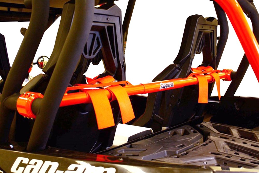 Dragonfire Racing LockDown Harness Bar Black for Can-Am Maverick Max 1000 X ds Turbo 2015-2017