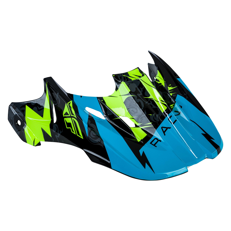 Fly Racing 73-47926 Kinetic Shocked Helmet Visor Black//Teal