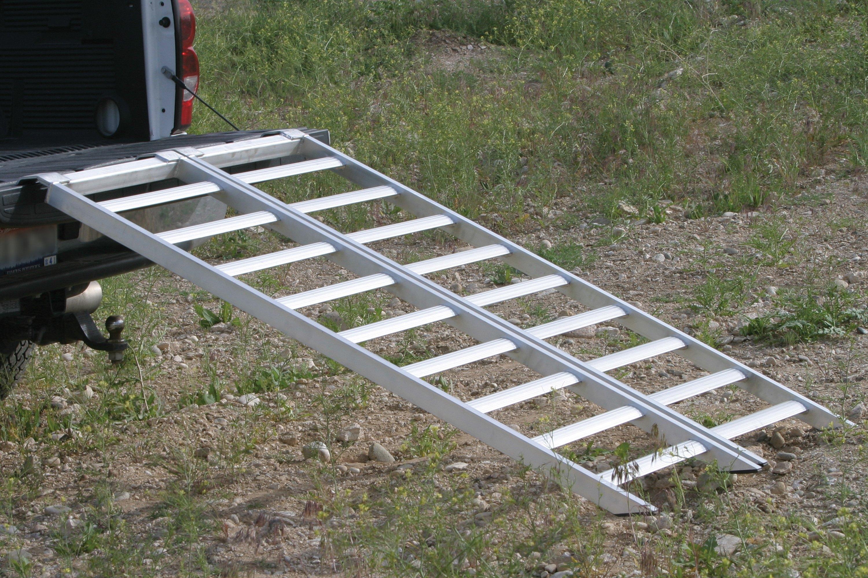 Aluminum Atv Ramps >> Fly Racing Aluminum Folding Atv Ramp