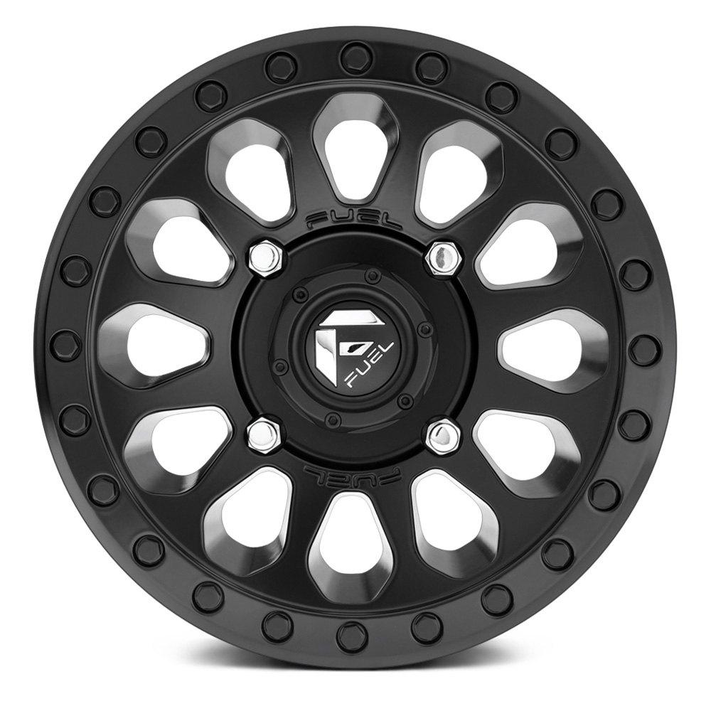FUEL® - D579 VECTOR UTV Matte Black Wheel