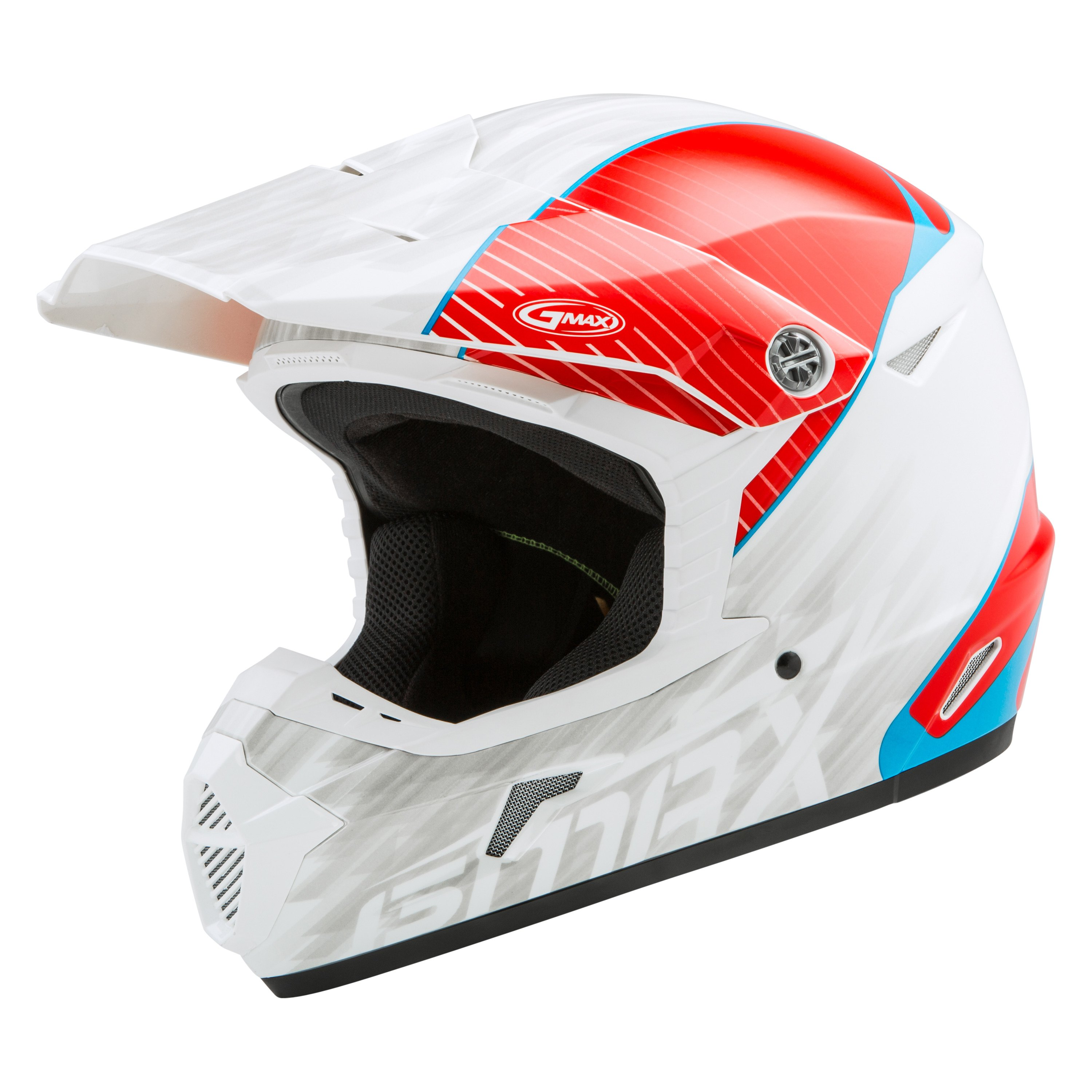 Gmax 174 G3463012 Mx 46y Offroad Colfax Large White Red