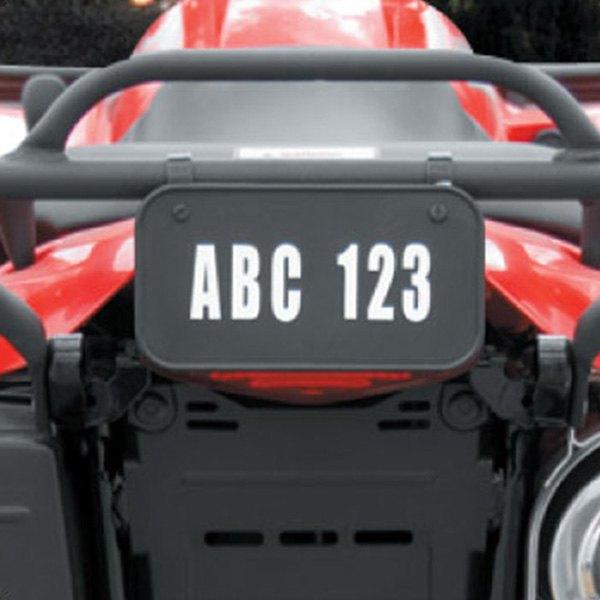 Hardline ATV License//Registration Kit 2341B