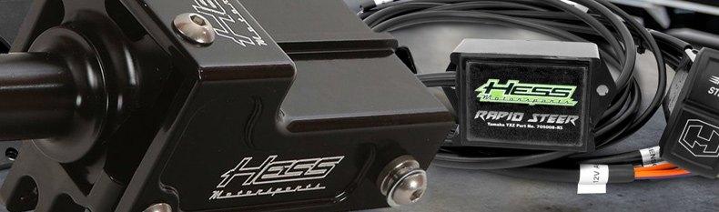 Motorsports Sprocket Guards Dual w//Teeth HESS 101001