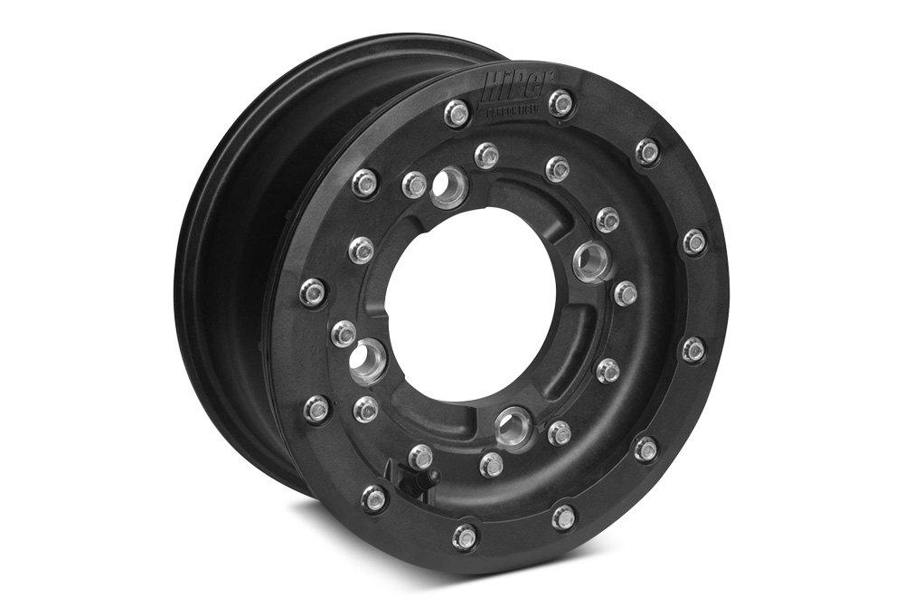 "Hiper Wheels CF1 Tech 3 Rear Wheel Rim Replacement Beadlock Ring 8 Inch 8/"" White"