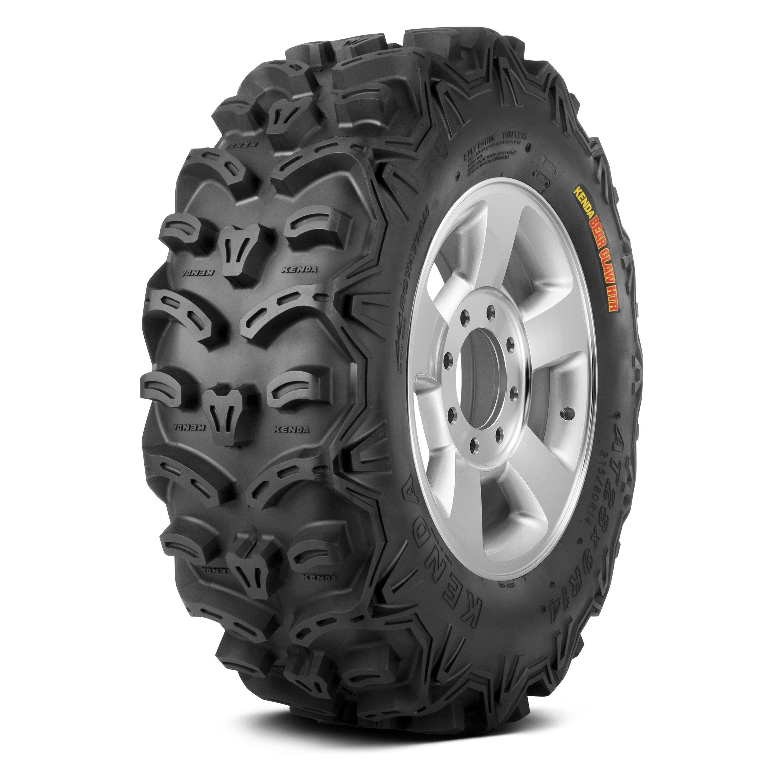 Pair 2 Kenda Bearclaw HTR 25x8-12 ATV Tire Set 25x8x12 K587 25-8-12