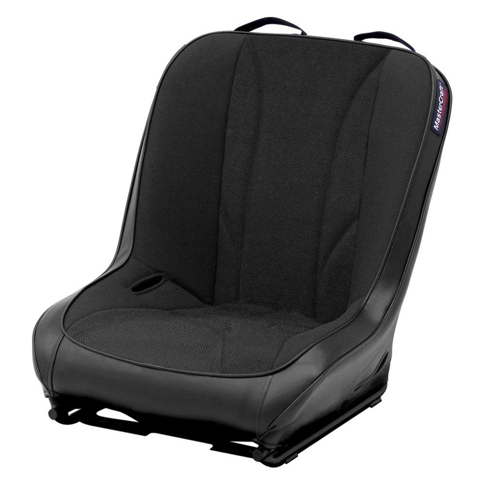 MasterCraft Safety® 573004 - PWR Sport™ Black Premium Suspension UTV Seat