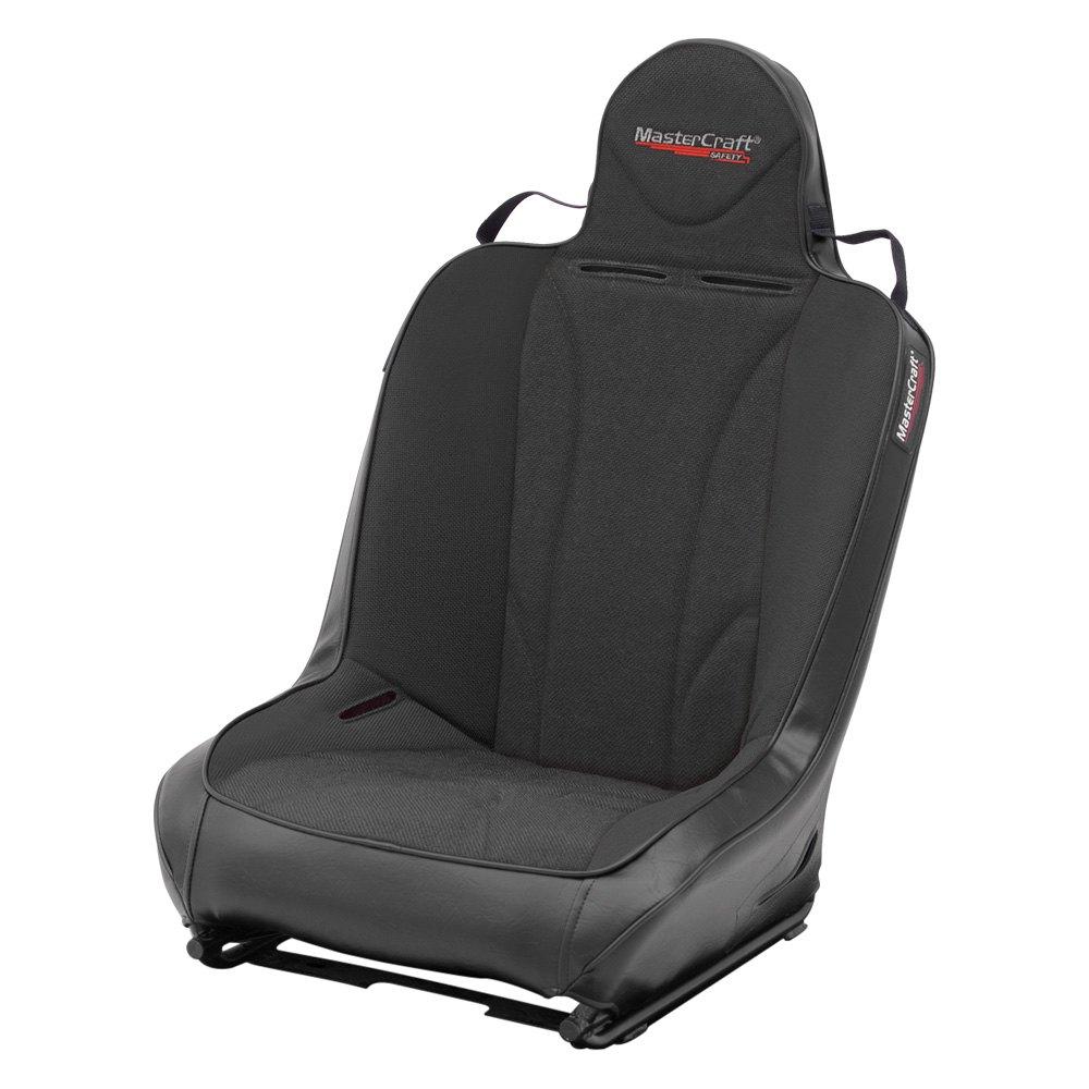 MasterCraft Safety® 574004 - PWR Sport™ Premium Suspension UTV Seat, Black