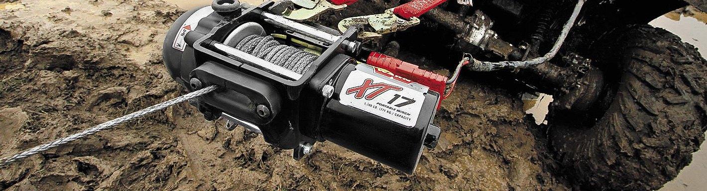 ATV/UTV Winches & Accessories | Ropes, Mounts, Kits