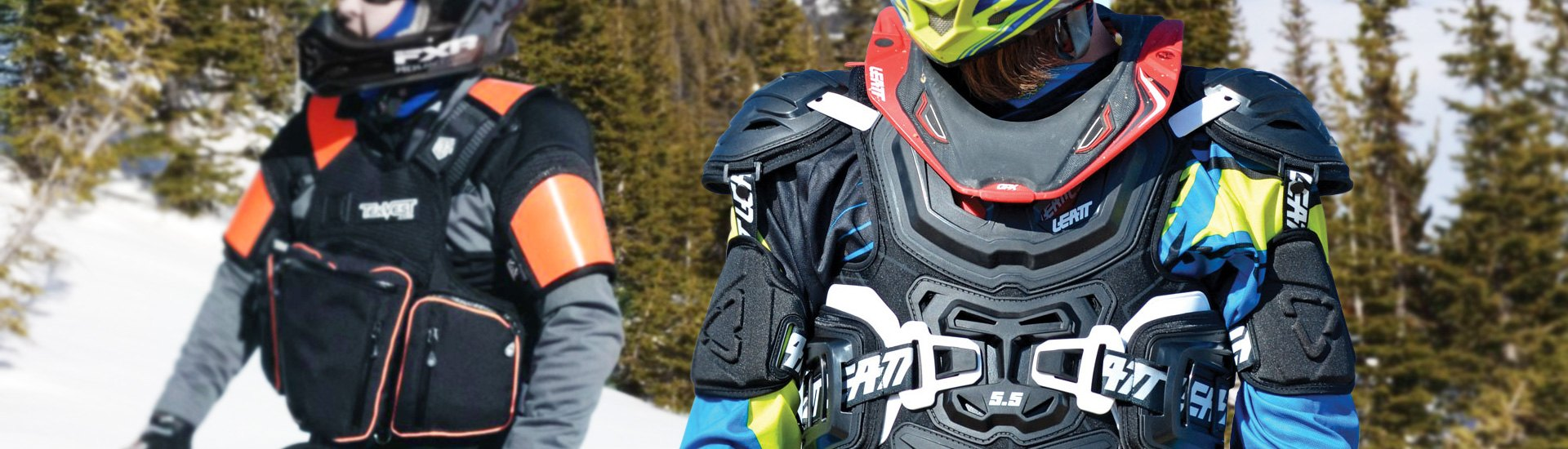 Snowmobile Body Armor & Protection | Boots, Goggles, Neck