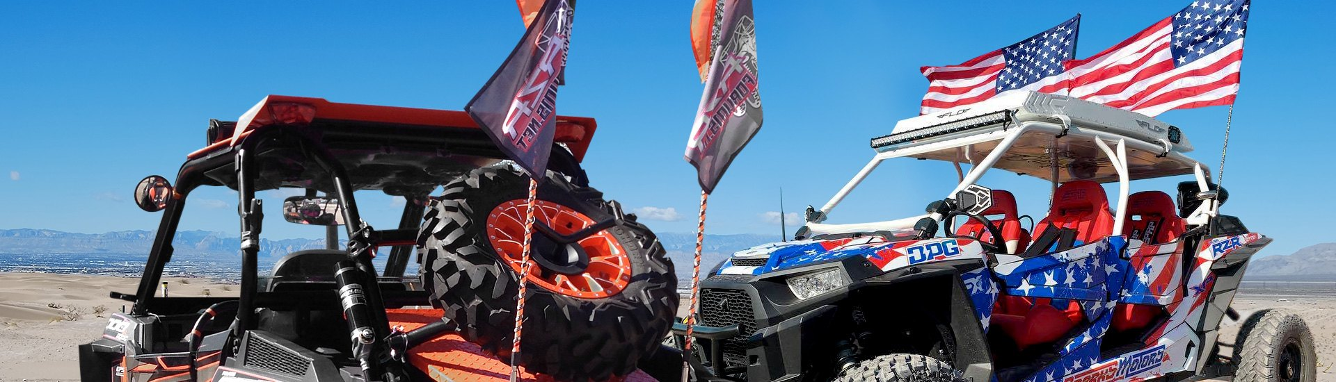 Polaris RZR XP 1000 EPS Flags, Banners, Signs | Riding