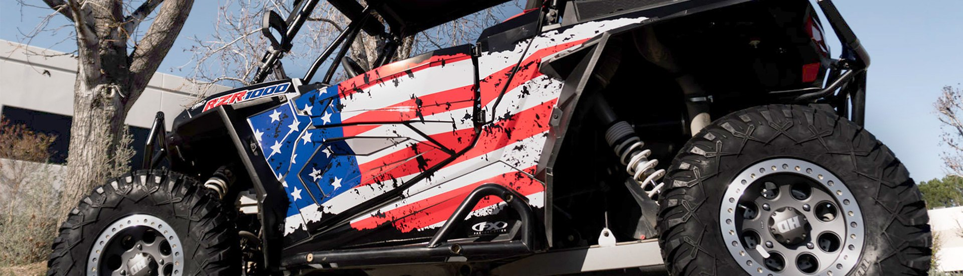 Powersports Graphics & Decals | ATV, Snowmobile, UTV, PWC