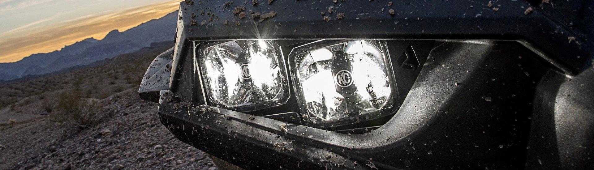 Utv Headlights Amp Bulbs Led Halo Projector Custom Hid