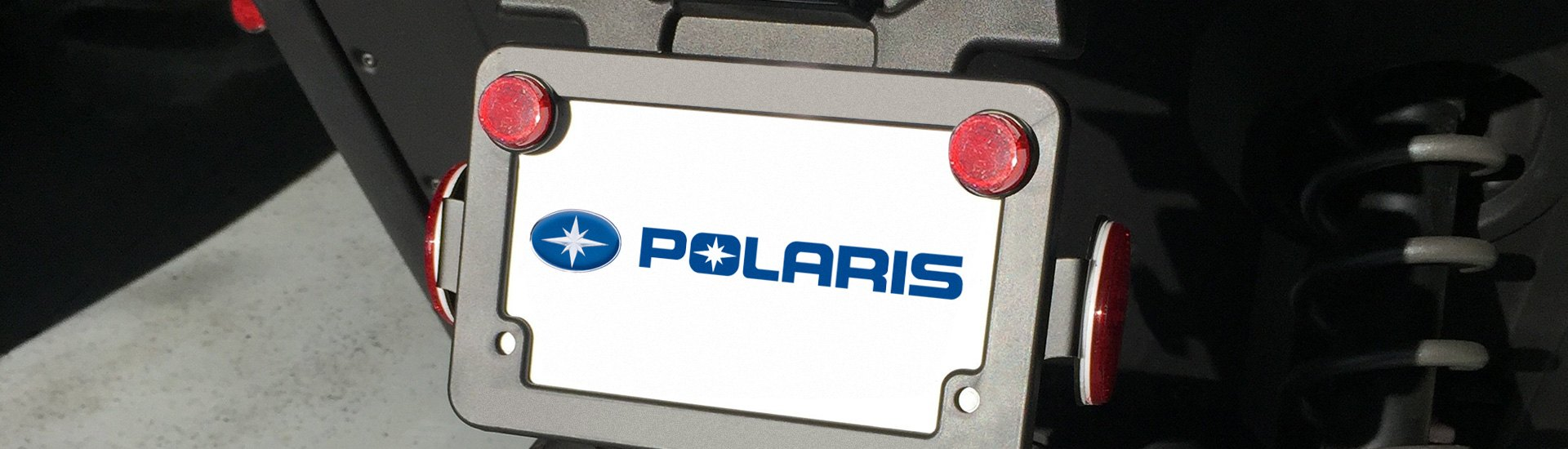 Polaris Powersports License Plates & Accessories | Holders