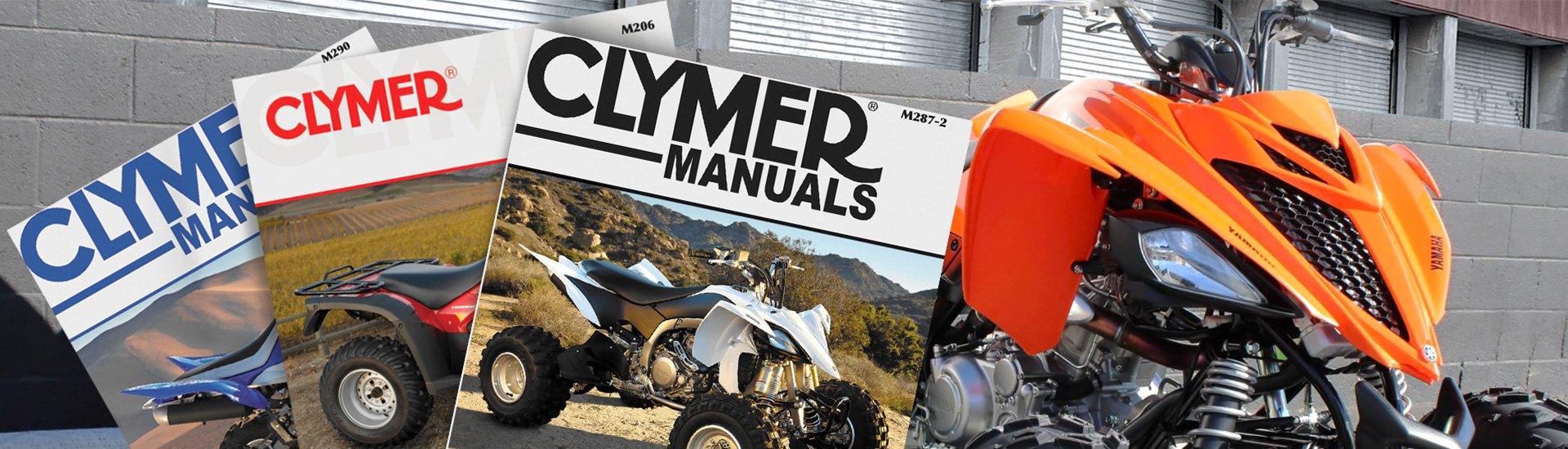 Clymer Repair Manual for Honda TRX420 Rancher M202
