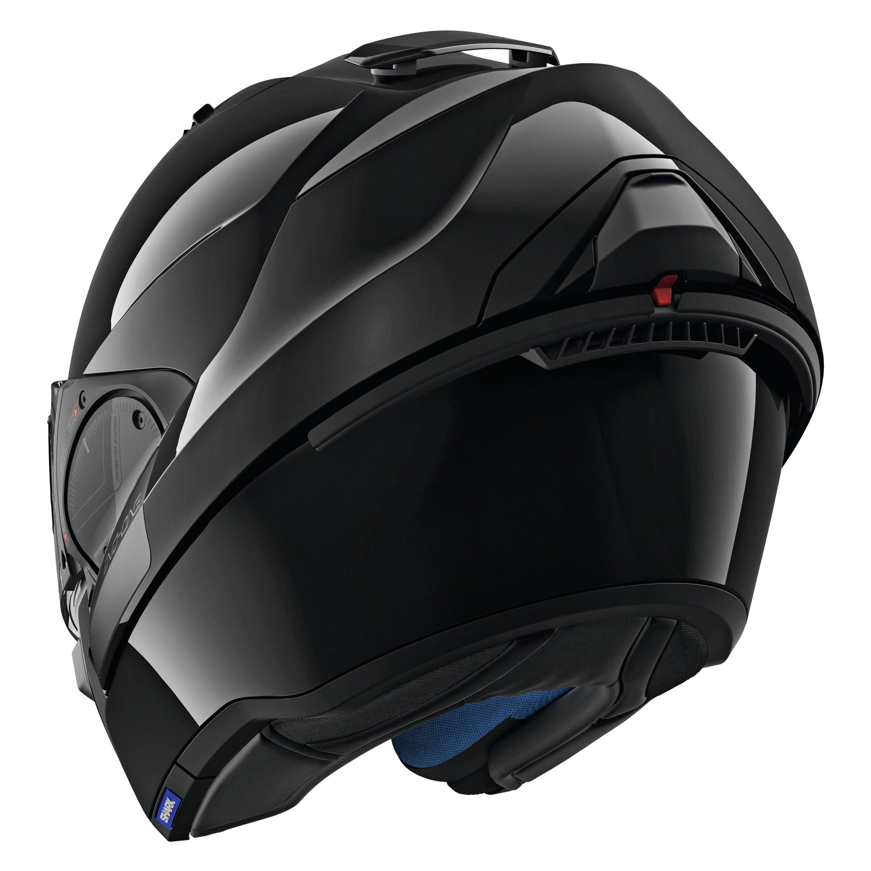 shark helmets he9700dblkm evo one 2 blank medium black. Black Bedroom Furniture Sets. Home Design Ideas