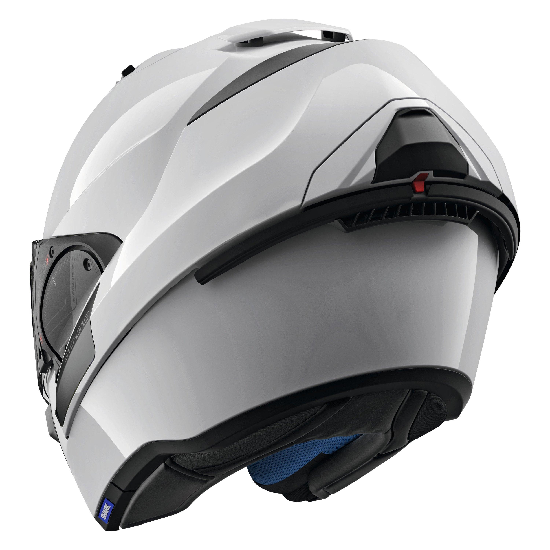 shark helmets he9700dwhul evo one 2 blank large white. Black Bedroom Furniture Sets. Home Design Ideas