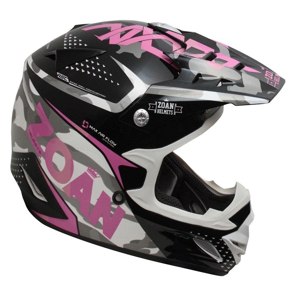 Zoan Helmets 174 021 575 Mx 1 Sniper Graphic Medium Pink